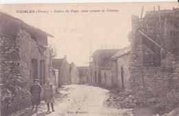 CPA - CUISLES (Marne) - Entrée Du Pays, Route Venant De Violaine - France