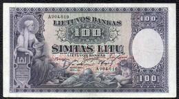 100 1928 LITHUANIA - Lituania
