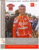 Cyclisme, Santi Blanco, Papier Souple - Cyclisme