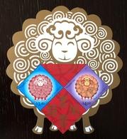 Tonga - Niuafo' Ou 2015; China Year Of The Sheep; Animals! MNH / ** VF Sheet!! - Chinese New Year