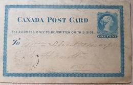 Canada Post Card Hamilton 1880 - Kanada