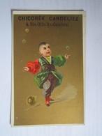 CHROMO CHICORÉE A LA BOULANGÈRE CANDELIEZ à SAINTE OLLE LES CAMBRAI (Nord) GRAINCOURT FINS - Thé & Café