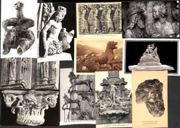 Lot 115 Cartes - Art Religion Sculpture Archéologie Bois Pierre.... Voir Zie See Scans. - Arts