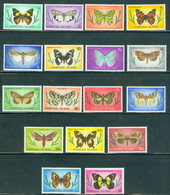 Norfolk Island 201-217 Butterflies, Complete Series/17, Mint NH - Ile Norfolk