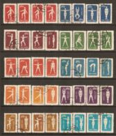 China P.R. 1952 Mi# 146-175 Used - Reprints - Radio Gymnastics - Réimpressions Officielles