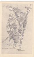 (59) - AUBERS Handgranatenwerfer Zeichnung Carte Dessinée Carte  Allemande - Autres Communes