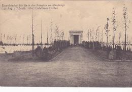(59) - Maubeuge  Friedhof Cimetière  Carte  Allemande - Maubeuge