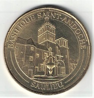 Monnaie De Paris 21.Saulieu - Basilique Saint Andoche 2014 - Monnaie De Paris