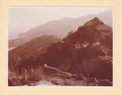 SAVOCA SICILIA Sicile 1926 Photo Amateur Format Environ 6,5 Cm Sur 5 Cm ITALIE - Luoghi