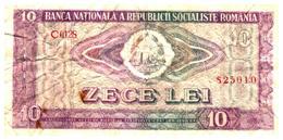 Billets >Roumanie > 10 Lei - Roumanie