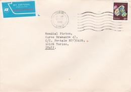 BUSTA VIAGGIATA  BY AIR MALL - KENIA - VIAGGIATA  PER TORINO / ITALIA - Kenia (1963-...)