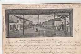 Flobecq , Cour Intérieure De L'école Moyenne - Flobecq - Vloesberg