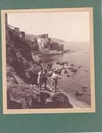 CASTELLAMARE Del GOLFO Sicile 1926 Photo Amateur Format Environ 6,5 Cm Sur 5 Cm ITALIE - Luoghi