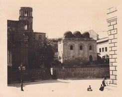 PALERMO PALERME MARORANA Sicile 1926 Photo Amateur Format Environ 6,5 Cm Sur 5 Cm ITALIE - Luoghi