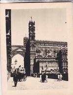 PALERMO Via BONELLO SICILIA  Août 1926 Photo Amateur Format Environ 6,5 Cm X 5,5 Cm - Luoghi