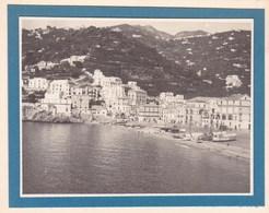 MINORI SICILIA  ITALIA Août 1926 Photo Amateur Format Environ 6,5 Cm X 5,5 Cm - Luoghi
