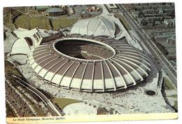 CARTOLINA CANADA LE STADE OLYMPIQUE, MONTREAL, QUEBEC VIAGGIATA 1979 - Montreal