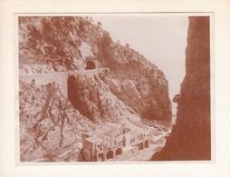 GOLFE De SALERNE Route D'AMALFI  SICILIA  ITALIA Août 1926 Photo Amateur Format Environ 6,5 Cm X 5,5 Cm - Luoghi