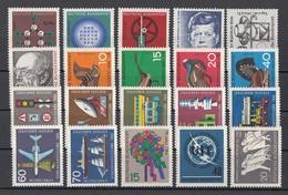 (015) Germany-BRD 1964-1965 - 20 Unbenutzte Briefmarken ** MNH - Michel-Nr. Siehe Beschreibung - BRD