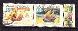 Nuova Caledonia 1992 Caravelle Colombo   Posta Aerea  Usati - Neukaledonien