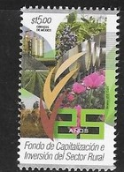 MEXICO, 2018, MNH, RURAL CAPITALIZATION AND INVESTMENT FUND, AGRICULTURE, 1v - Agriculture