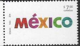 MEXICO, 2018, MNH, BRAND MEXICO,1v - Stamps