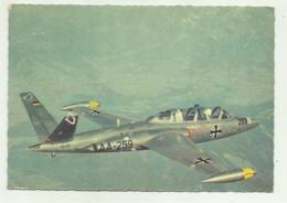 DIE BUNDESWEHR - FOUGA MAGISTER C.M. 170R - AA-259   VIAGGIATA FG - 1939-1945: II Guerra
