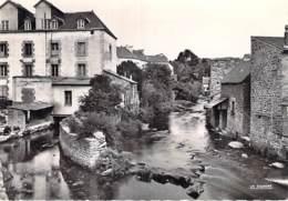 29 - PONT AVEN : Un Bord De L'Aven - Jolie CPSM Dentelée Noir Et Blanc Grand Format - Finistère - Pont Aven