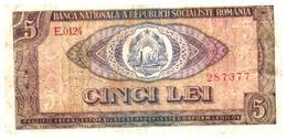 Billets >Roumanie > 5 Lei - Roumanie