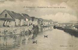 TANANARIVE CANAUX DANS LES RIZIERES - Madagaskar