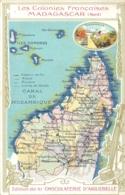 MADAGASCAR  NORD  LES COLONIES FRANCAISES EDITEE  DE LA CHOCOLATERIE D'AIGUEBELLE - Madagaskar