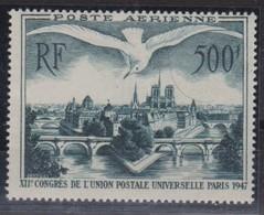 FRANCE Poste Aérienne 1947:   Le Y&T 20, Neuf ** - 1927-1959 Ungebraucht