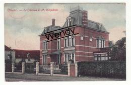 Olsene (le Château De M. Kluyskens - Color 1911) - Zulte