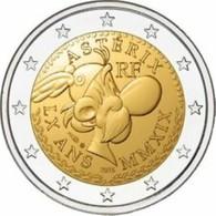Frankrijk  2019    2 Euro Comm. ASTERIX  Deze Munt Is Van UNC En Komt Uit De Coincard UNC Du Coincart  !! - Frankreich
