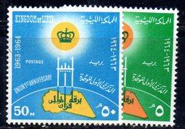 APR1411 - LIBIA LYBIA 1964 , Serie Yvert  N. 235/236  *** (2380A) - Libia