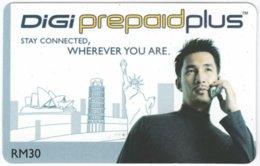 MALAYSIA A-521 Prepaid Digi - Communication, Mobile Phone - Used - Malaysia
