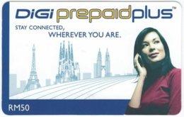 MALAYSIA A-522 Prepaid Digi - Communication, Mobile Phone - Used - Malaysia