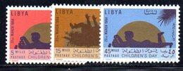 APR1412 - LIBIA LYBIA 1964 , Serie Yvert  N. 231/233  *** (2380A) - Libia