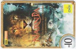 MALAYSIA A-536 Prepaid Digi - Cinema, The Chronicles Of Narnia - Used - Malaysia