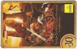MALAYSIA A-537 Prepaid Digi - Cinema, The Chronicles Of Narnia - Used - Malaysia