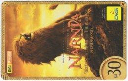 MALAYSIA A-538 Prepaid Digi - Cinema, The Chronicles Of Narnia - Used - Malaysia