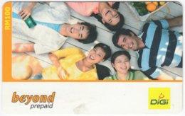 MALAYSIA A-546 Prepaid Digi - People, Youth - Used - Malaysia