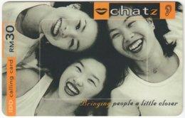MALAYSIA A-547 Prepaid Digi - People, Youth - Used - Malaysia