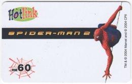 MALAYSIA A-558 Prepaid Maxis - Cinema, Spider Man - Used - Malaysia