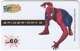 MALAYSIA A-559 Prepaid Maxis - Cinema, Spider Man - Used - Malaysia
