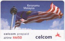 MALAYSIA A-578 Prepaid Celcom - Used - Malaysia