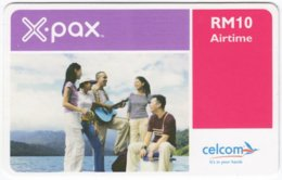 MALAYSIA A-582 Prepaid Celcom - People, Youth - Used - Malaysia