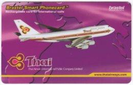 MALAYSIA A-598 Prepaid Brastel - Traffic, Airplane - Used - Malaysia