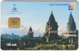 MALAYSIA A-609 Chip Telekom - Culture, Ruins - Used - Malaysia