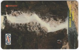 MALAYSIA A-620 Magnetic Telekom - Landscape, Waterfall - 23MSAB - Used - Malaysia